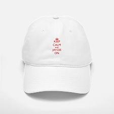 Keep Calm and Jaycee ON Baseball Baseball Cap