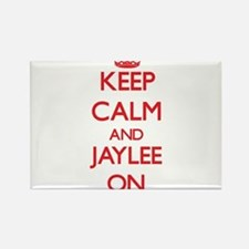 Keep Calm and Jaylee ON Magnets