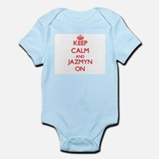 Keep Calm and Jazmyn ON Body Suit