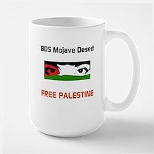BDS Mojave Desert FREE PALESTINE Mugs
