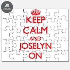 Keep Calm and Joselyn ON Puzzle