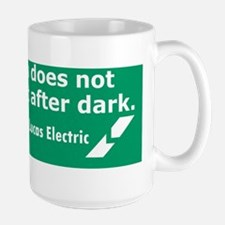 Lucas Electric Motor After Dark Large Mug