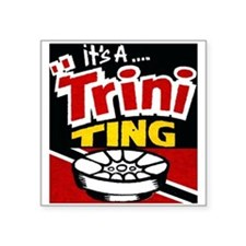 TRINI THING Sticker
