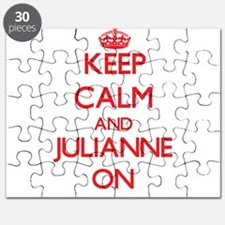 Keep Calm and Julianne ON Puzzle