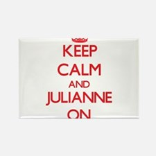 Keep Calm and Julianne ON Magnets