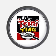 TRINI THING.png Wall Clock