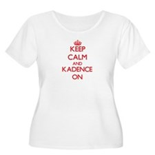 Keep Calm and Kadence ON Plus Size T-Shirt