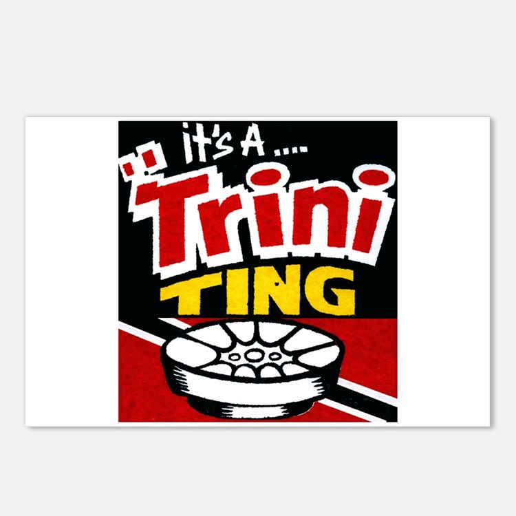 TRINI THING.png Postcards (Package of 8)