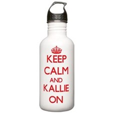 Keep Calm and Kallie O Water Bottle