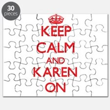 Keep Calm and Karen ON Puzzle