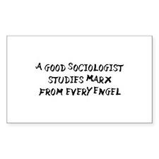 Karl Marx Puns Decal