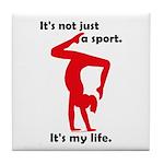 Gymnastics Tile Coaster - Life