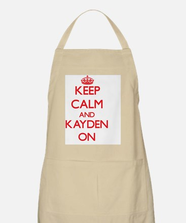 Keep Calm and Kayden ON Apron