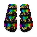 80s Flip Flops