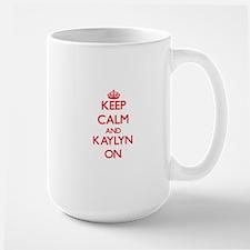 Keep Calm and Kaylyn ON Mugs