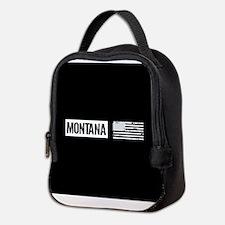 U.S. Flag: Montana Neoprene Lunch Bag