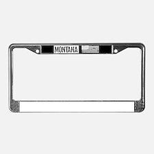 U.S. Flag: Montana License Plate Frame