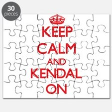 Keep Calm and Kendal ON Puzzle