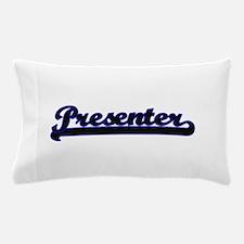 Presenter Classic Job Design Pillow Case