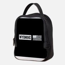 U.S. Flag: Wyoming Neoprene Lunch Bag