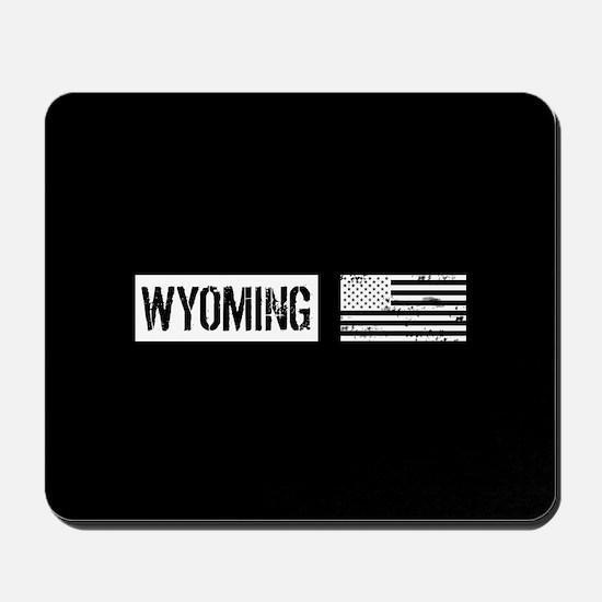 U.S. Flag: Wyoming Mousepad
