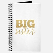 Glitter Big Sister Journal