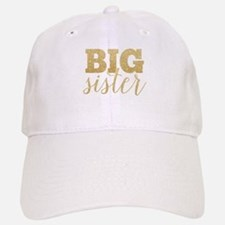 Glitter Big Sister Cap