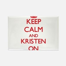 Keep Calm and Kristen ON Magnets