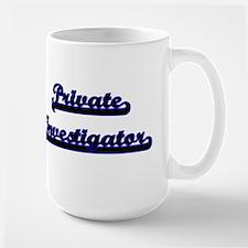 Private Investigator Classic Job Design Mugs