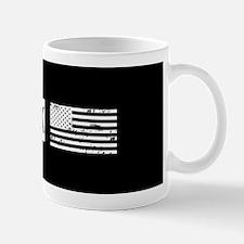 Black & White U.S. Flag: New York Mug