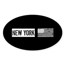U.S. Flag: New York Decal