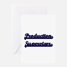Production Supervisor Classic Job D Greeting Cards