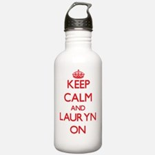 Keep Calm and Lauryn O Water Bottle