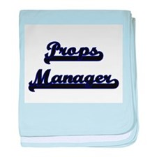 Props Manager Classic Job Design baby blanket