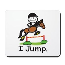 Horse Jumping Mousepad