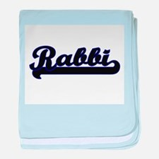 Rabbi Classic Job Design baby blanket