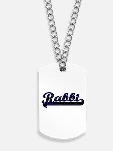 Rabbi Classic Job Design Dog Tags
