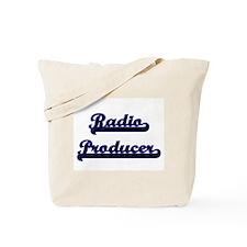 Radio Producer Classic Job Design Tote Bag