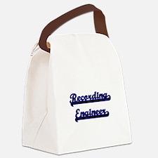 Recording Engineer Classic Job De Canvas Lunch Bag