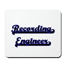 Recording Engineer Classic Job Design Mousepad
