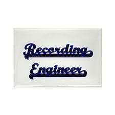 Recording Engineer Classic Job Design Magnets