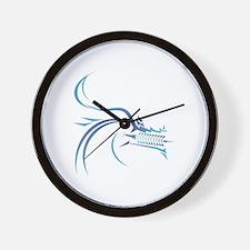 Cool Dragon boat Wall Clock