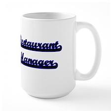Restaurant Manager Classic Job Design Mugs