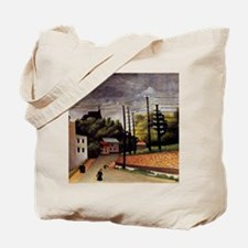 Rousseau - View of Malakoff Tote Bag