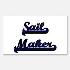 Sail Maker Classic Job Design Decal