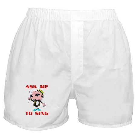 QUARTET SINGER Boxer Shorts