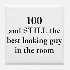100 still best looking 2 Tile Coaster