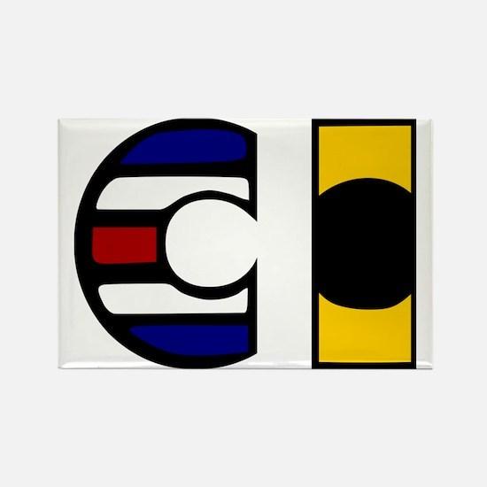 CI Rectangle Magnet