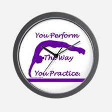 Gymnastics Clock - Perform