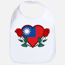 Heart Taiwan Bib
